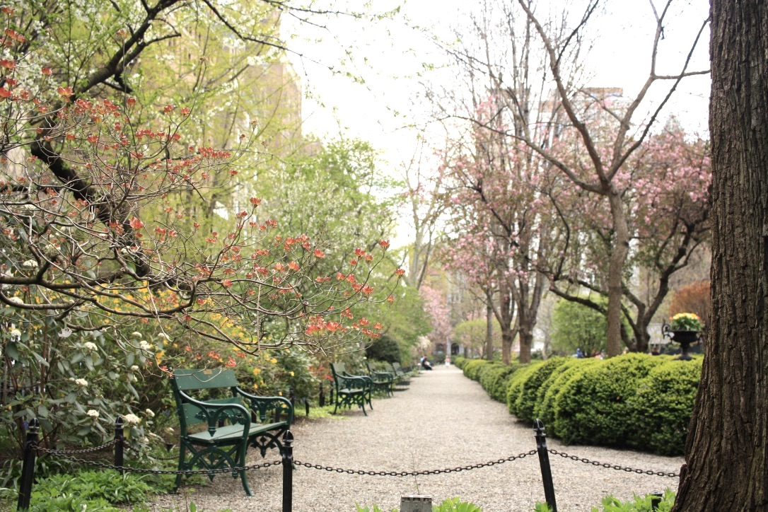 Great parks in NYC - Gramercy Park