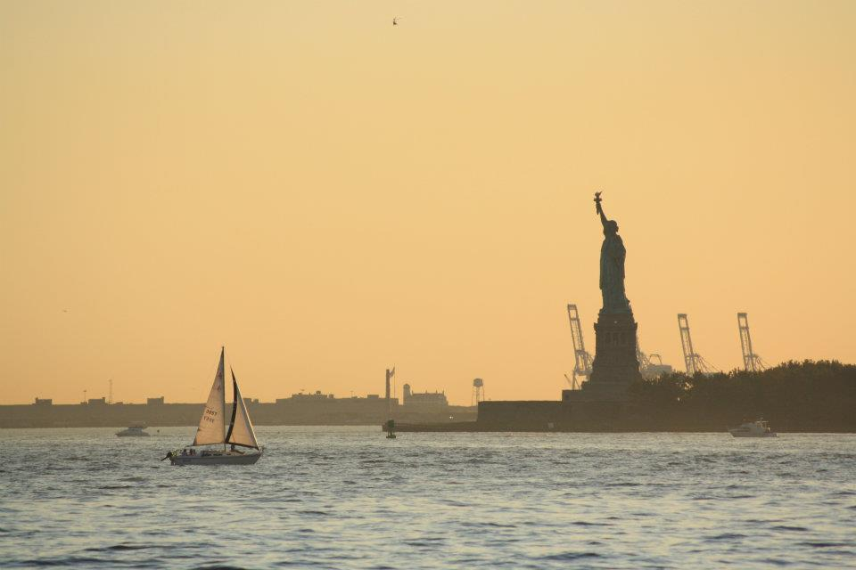 Great parks in NYC - Battery Park - Statute of Liberty