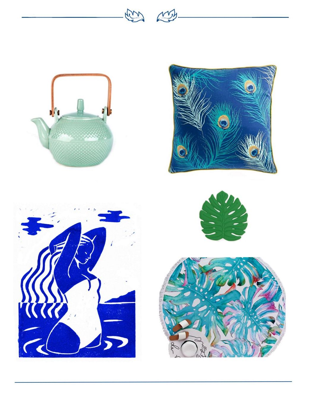 Deco - Keep the Holiday vibe - Blue Summer Vibe Selection