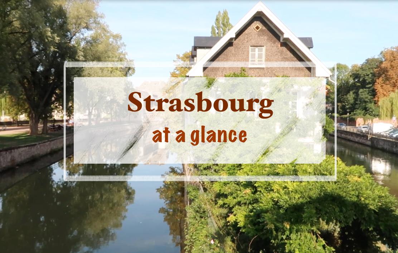 Un aperçu de Strasbourg