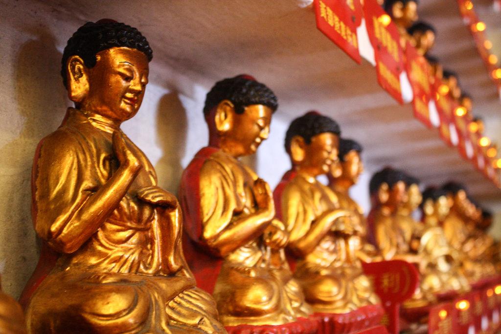 Hong Kong temple des Dix Mille Bouddhas